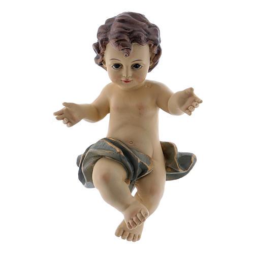 Santon Enfant Jésus h réelle 10 cm  1