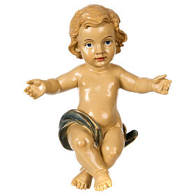 Gesù Bambino resina presepe 100 cm s1