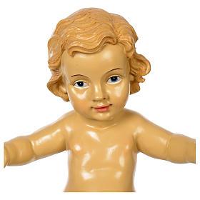 Gesù Bambino resina presepe 100 cm s2