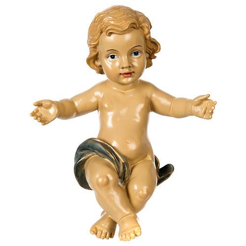 Gesù Bambino resina presepe 100 cm 1