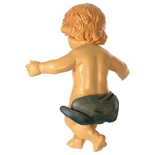 Gesù Bambino resina presepe 100 cm 4
