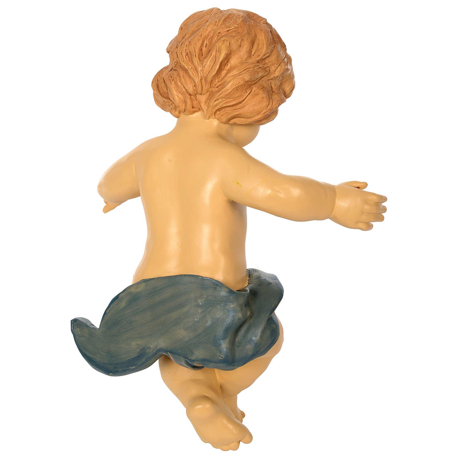 Gesù Bambino resina presepe 150 cm 3