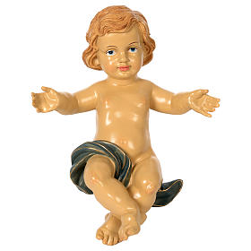 Resin Baby Jesus for 150 cm nativity scene s1