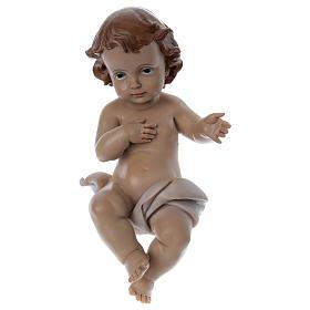 Estatua Niño Jesús h real 22 cm resina s1
