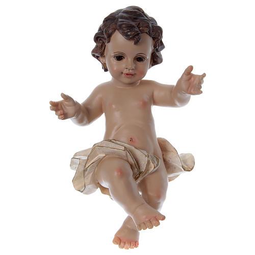 Santon Enfant Jésus bras ouverts h réelle 22 cm 1