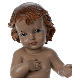 Young Child with Drape in Resin actual height 33 cm s2