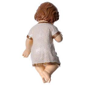 Bambinello benedicente con veste ornata h 30 cm s3