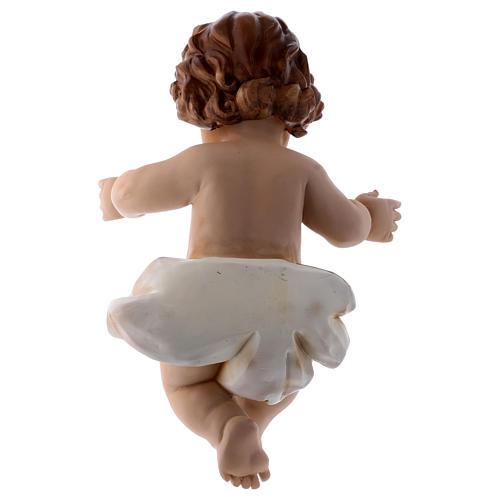 Resin baby Jesus statue, actual size 32 cm long 4