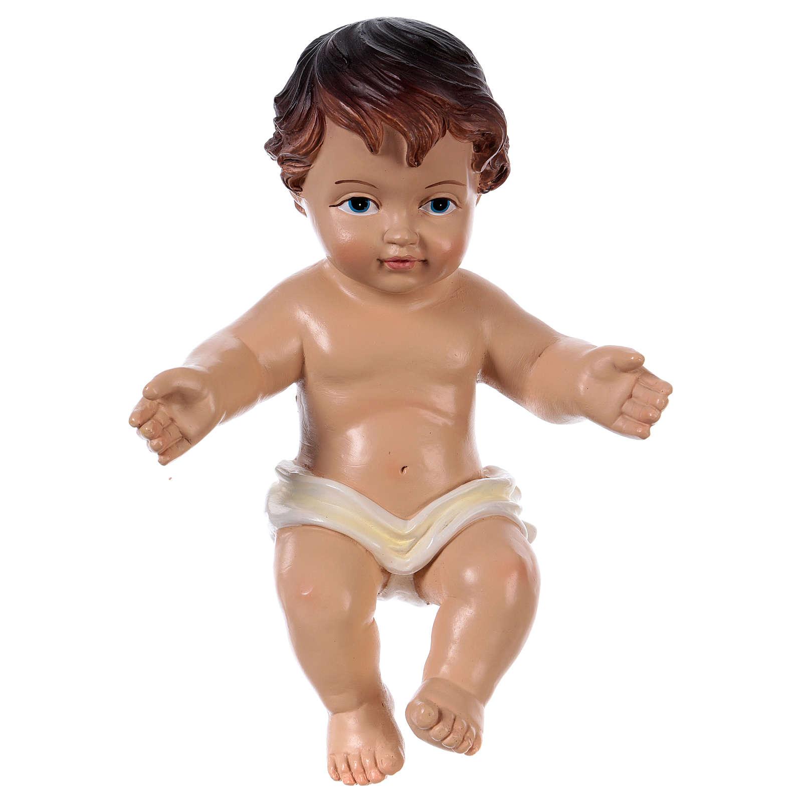 Statuina Gesù bambino h reale 16 cm 3