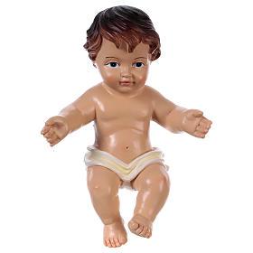 Statuina Gesù bambino h reale 16 cm s1