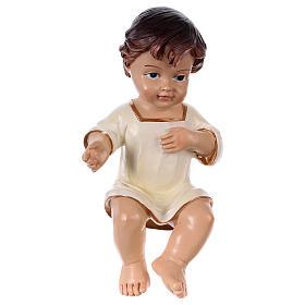 Santon Enfant Jésus résine h réelle 16 cm s1