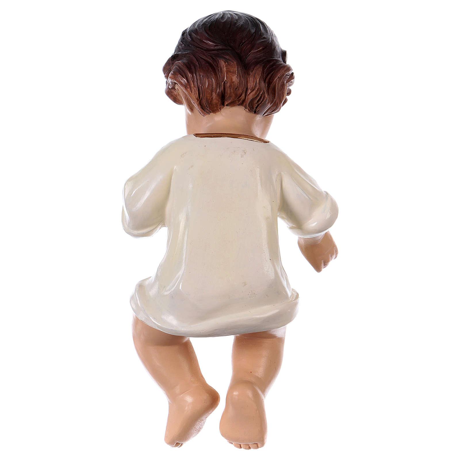 Statua bambinello h reale 16 cm resina 3