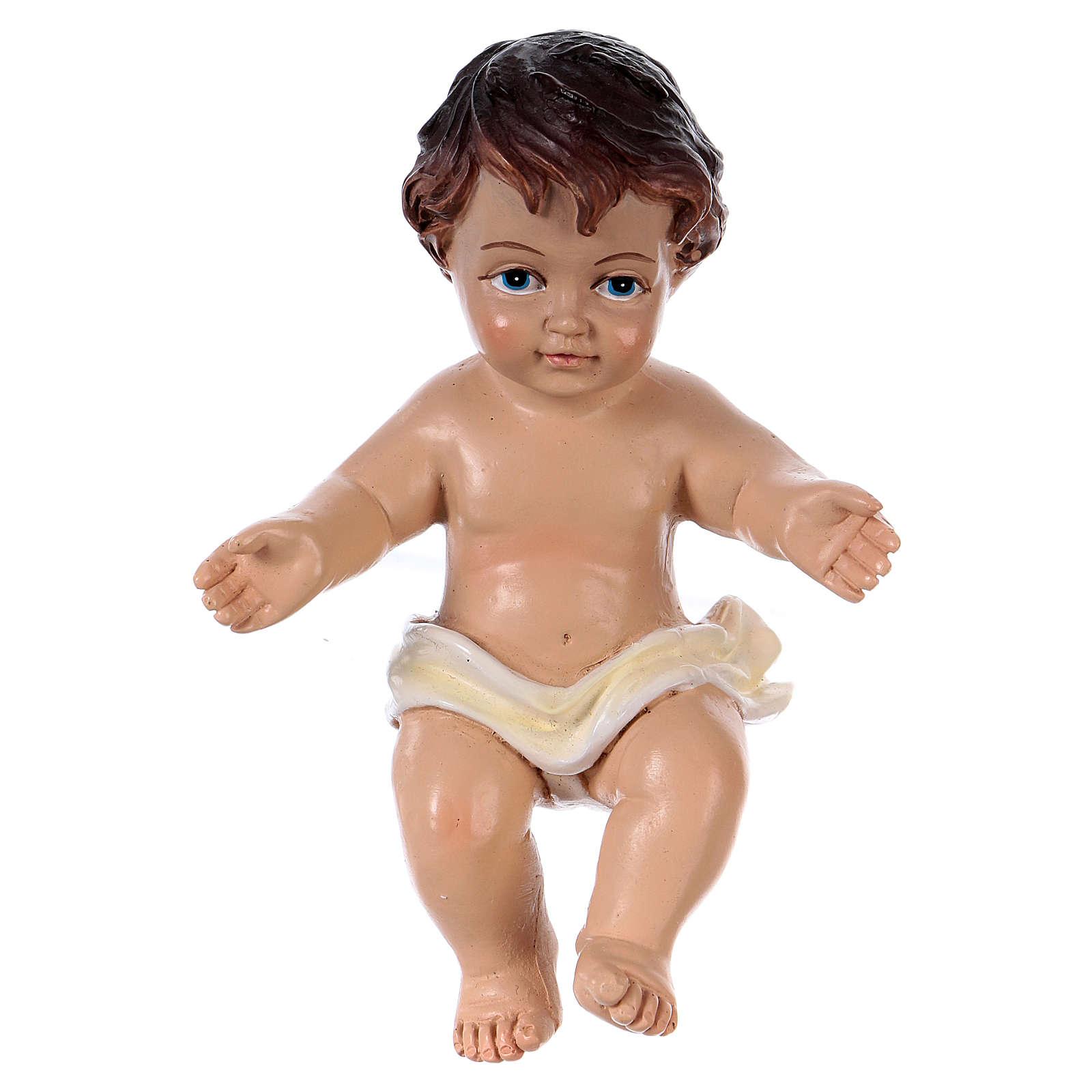Enfant Jésus h réelle 10,5 cm résine 3