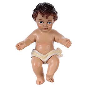 Enfant Jésus h réelle 10,5 cm résine s1