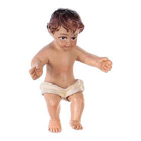 Estatuas del Niño Jesús: Niño Jesús resina h. real 4,5 cm resina