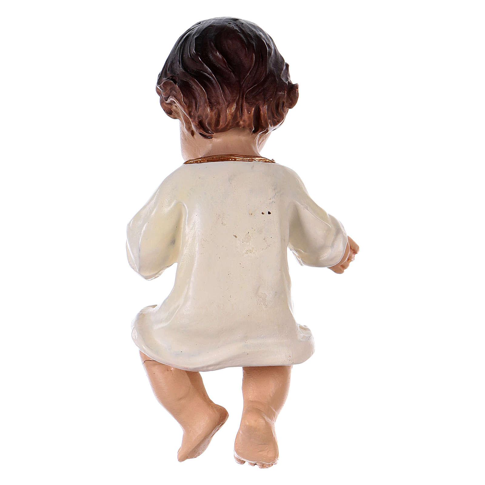 Menino Jesus bebé 8,5 cm resina 3