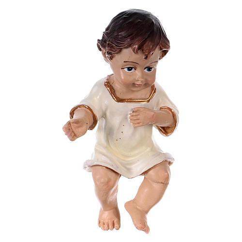 Menino Jesus bebé 8,5 cm resina 1