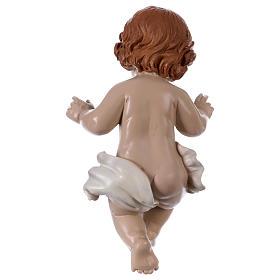 Statua Bambinello h reale 21 cm resina s3