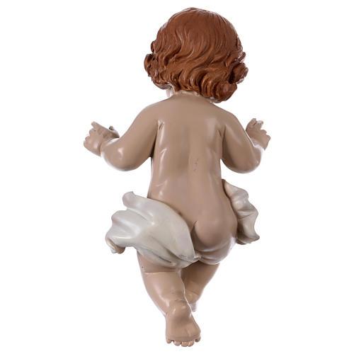 Statua Bambinello h reale 21 cm resina 3