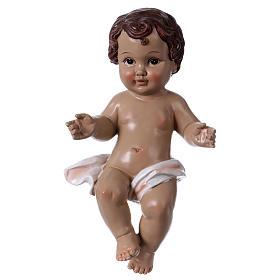 Baby Jesus statue in resin 30 cm s1