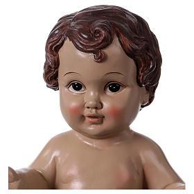 Baby Jesus statue in resin 30 cm s2