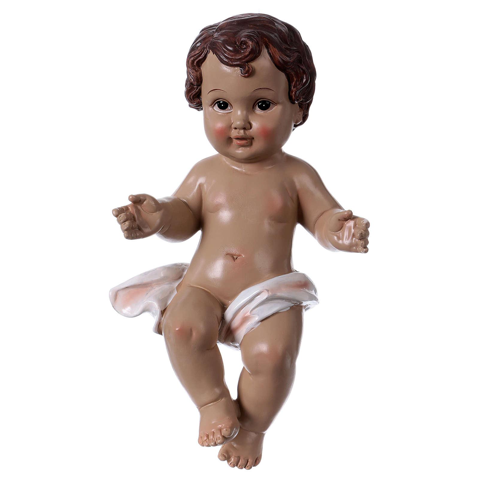 Bambinello 30 cm statua in resina 3