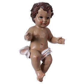 Bambinello 30 cm statua in resina s4