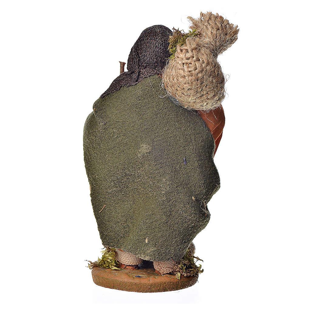 Viandante con fagotto 10 cm 4