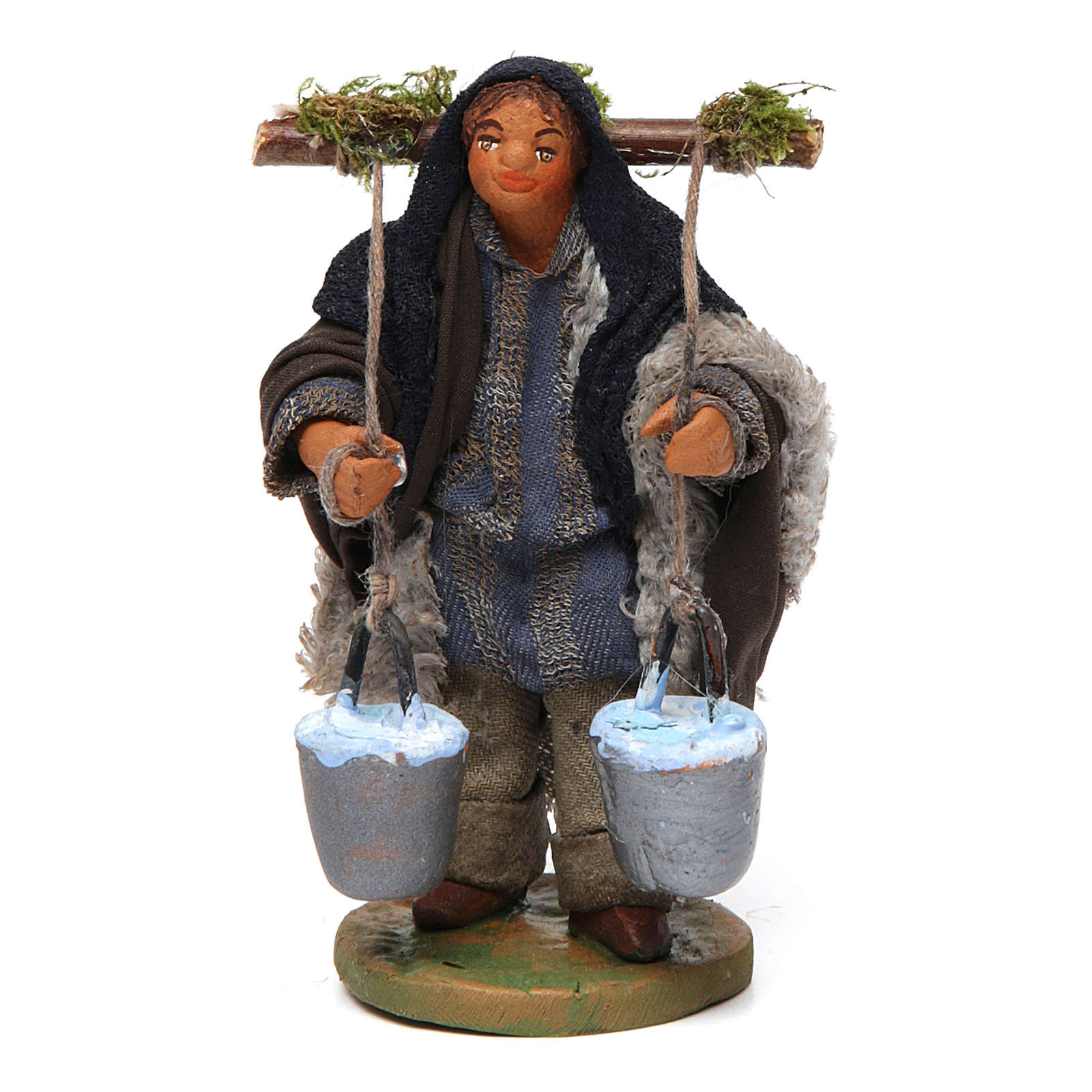 Nativity set accessory Water carrier 10 cm 4