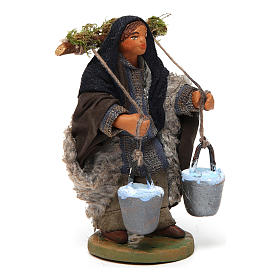Nativity set accessory Water carrier 10 cm s3
