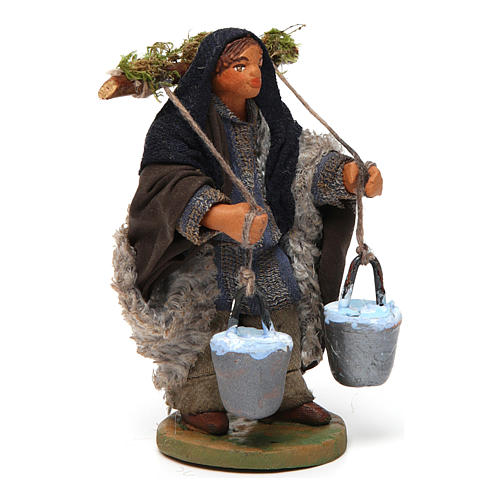 Nativity set accessory Water carrier 10 cm 3