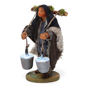 Nativity set accessory Water carrier 10 cm s2