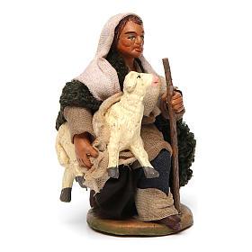 Pastore con pecorella 10 cm s3