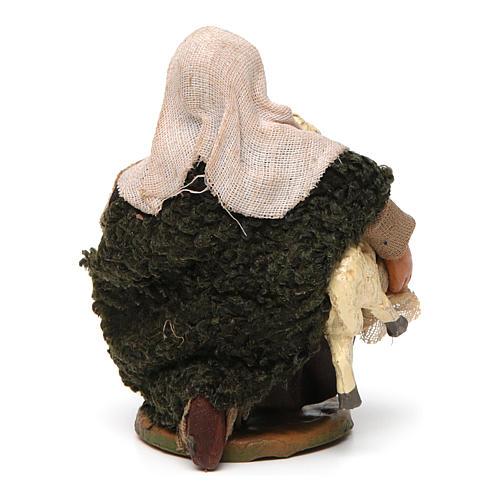 Pastore con pecorella 10 cm 4