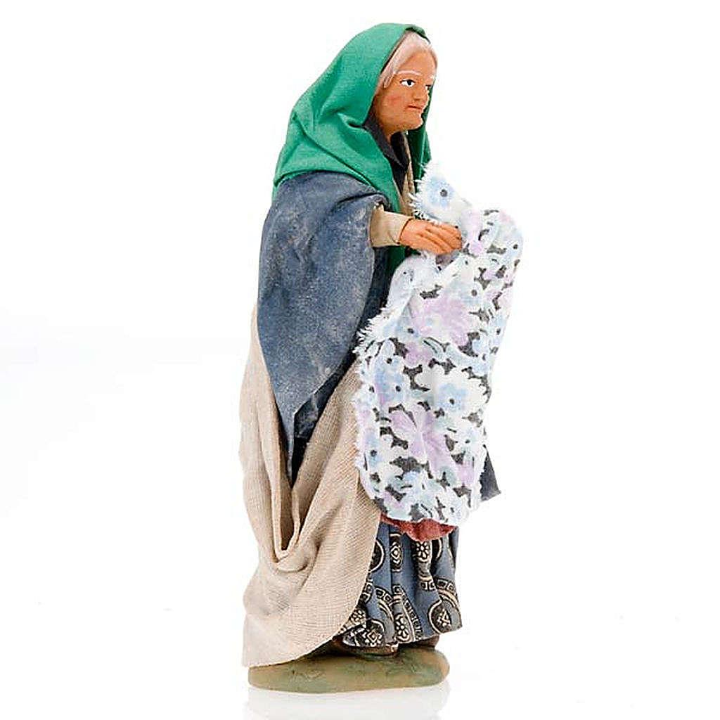 Mulher roupa na mão 14 cm 4