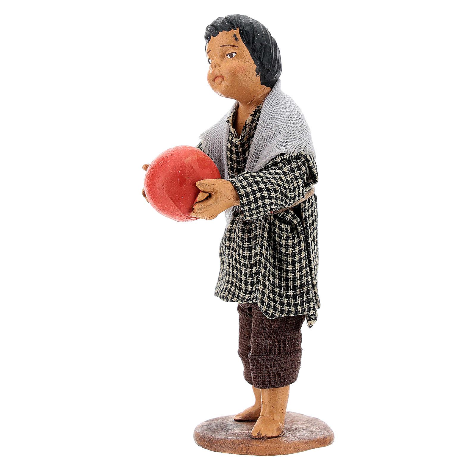 Bambino con palla 14 cm 4