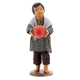 Bambino con palla 14 cm s1