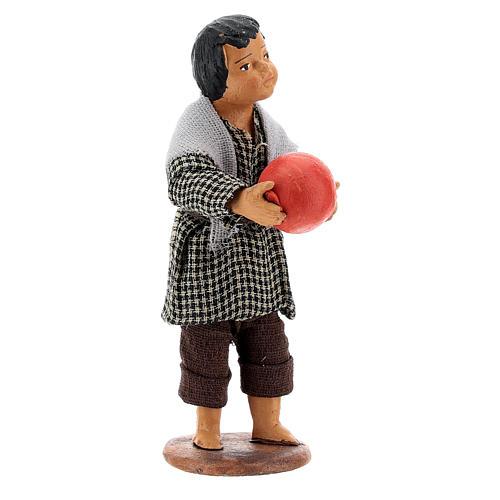Bambino con palla 14 cm 3