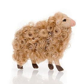 Neapolitan Nativity Scene: Sheep head high 8 cm nativity set