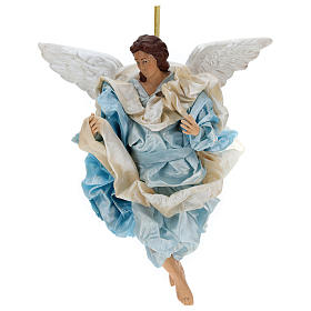 Neapolitan nativity figurine, Angel 30cm s1