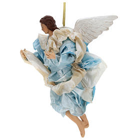 Neapolitan nativity figurine, Angel 30cm s2