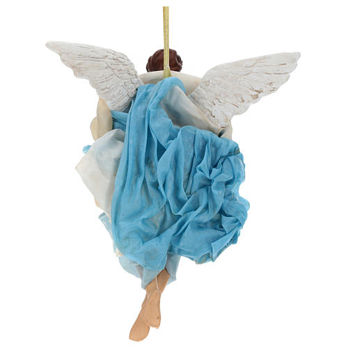Neapolitan nativity figurine, Angel 30cm 4