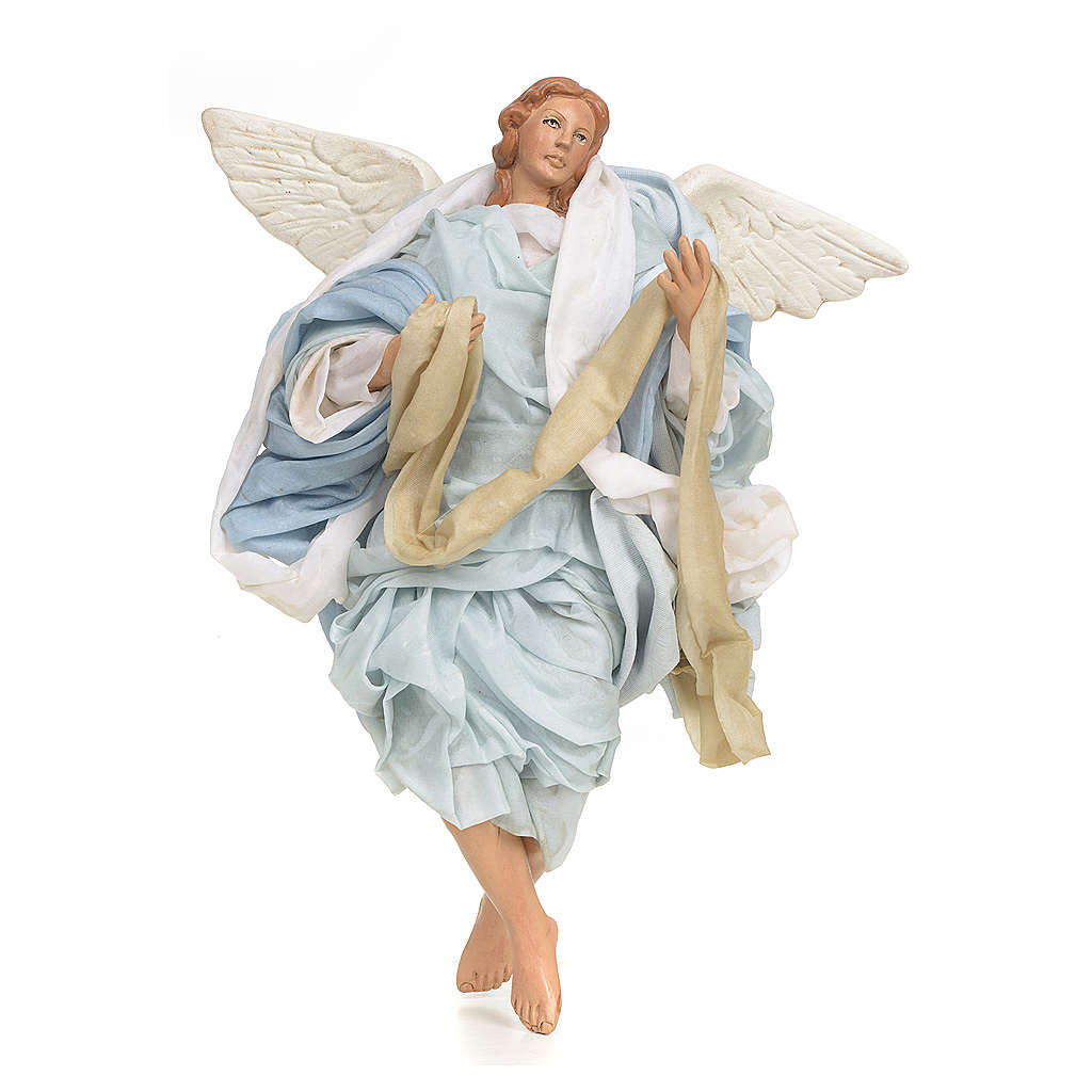 Neapolitan nativity figurine, Angel 30cm 4