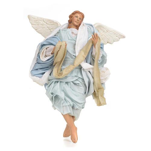 Neapolitan nativity figurine, Angel 30cm 1