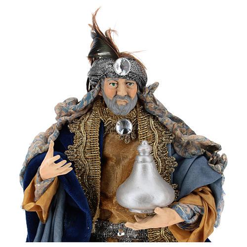 Neapolitan figurines, the Magi 30cm 2