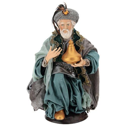 Neapolitan figurines, the Magi 30cm 3