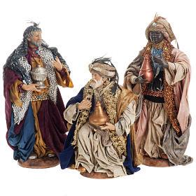 Neapolitan figurines, the Magi 30cm s1