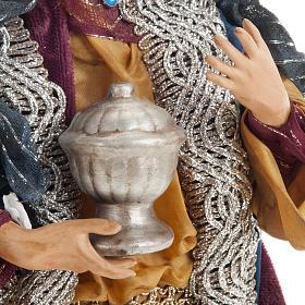 Neapolitan figurines, the Magi 30cm s12