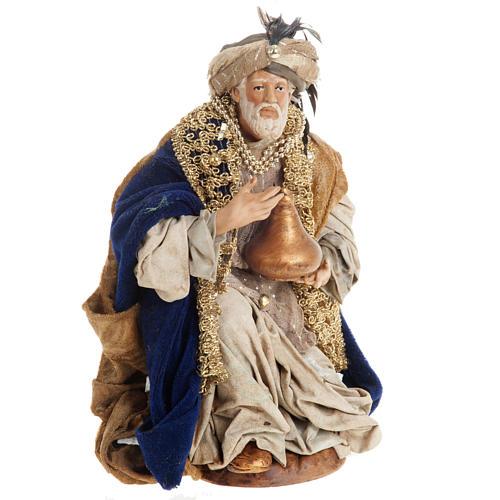 Neapolitan figurines, the Magi 30cm 5