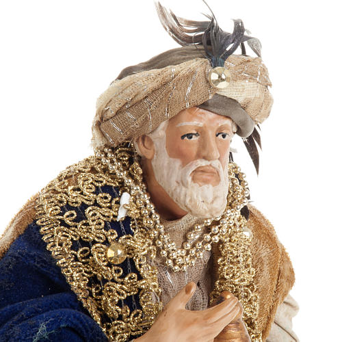 Neapolitan figurines, the Magi 30cm 6